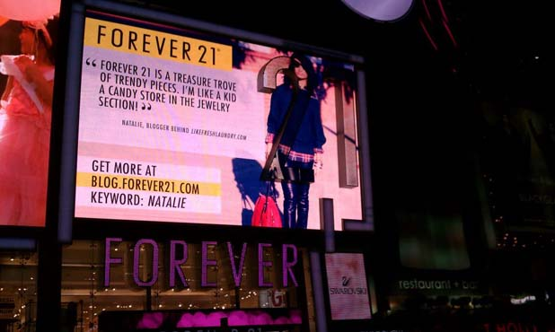 forever-21-blogger-billboard-times-square-like-fresh-laundry