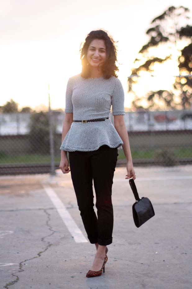 how-to-wear-peplum