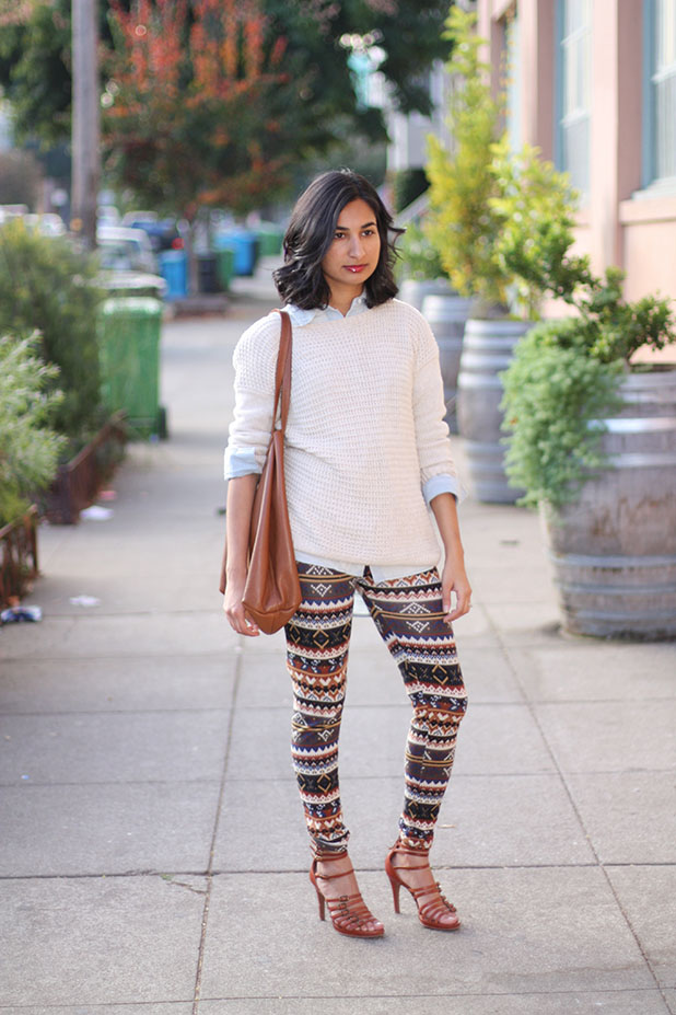 Fair Isle Leggings | Like Fresh Laundry