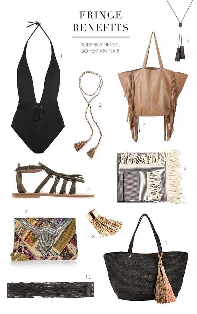 want: tassels and fringe