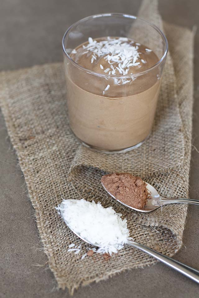 German Chocolate Cake Smoothie | Like Fresh Laundry