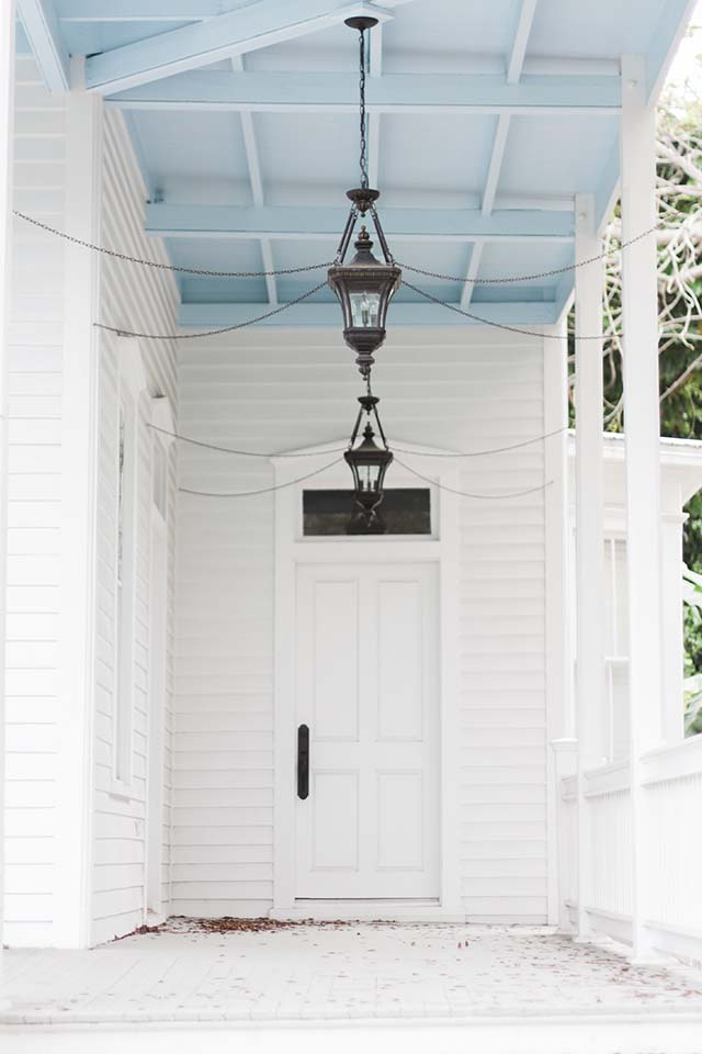 Key West home entrance