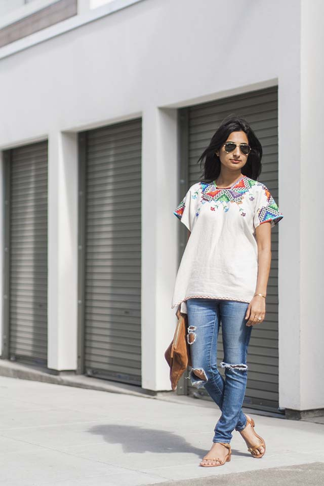 Embroidered Top | Like Fresh Laundry