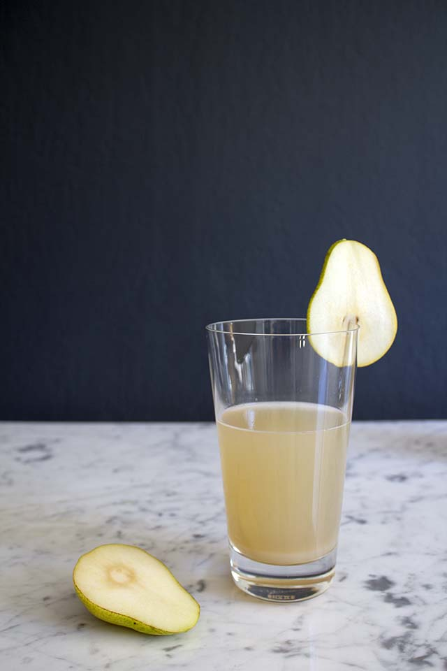 Pear Ginger Fizz Recipe | Snowe Drinkware | Like Fresh Laundry