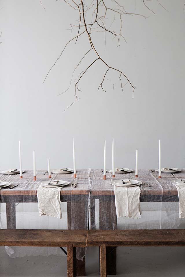 Holiday Table Decor | Like Fresh Laundry