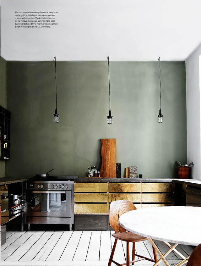 Brass cabinets | RUM magazine | Like Fresh Laundry